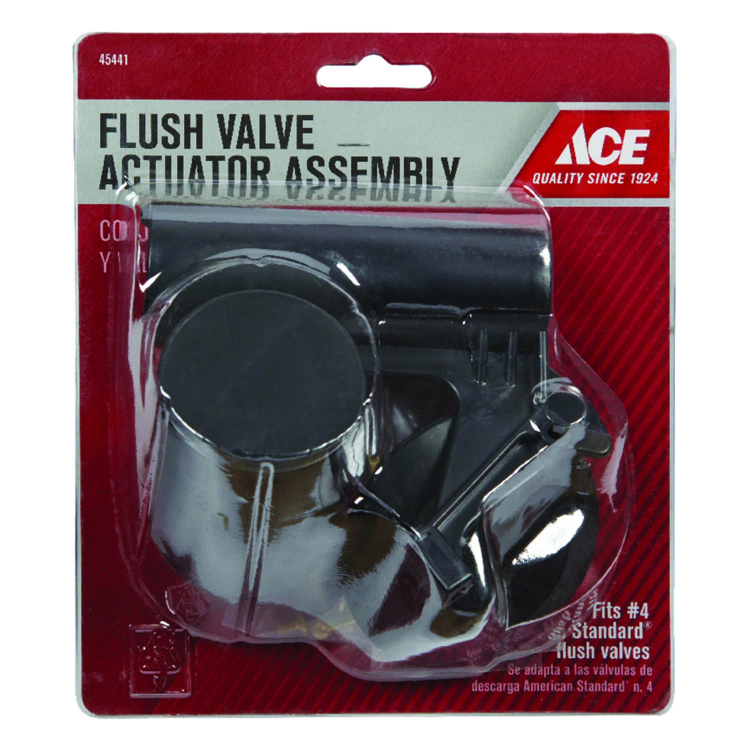 Ace  Flush Valve Acuator Assembly  Stainless Steel