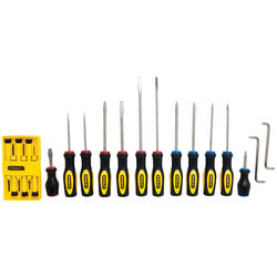 Stanley Phillips/Slotted Screwdriver Set 20 pc.