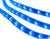 Celebrations  Incandescent  Rope Lights  Blue  18 ft. 216 lights White wire