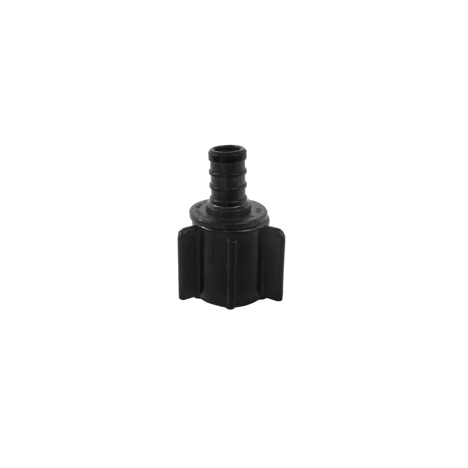 Flair-It  Ecopoly  1/2 in. PEX   x 1/2 in. Dia. FPT  Wing Nut Swivel Coupling