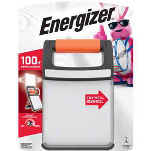 Energizer  Fusion  400 lumens Black/Orange  Folding Lantern