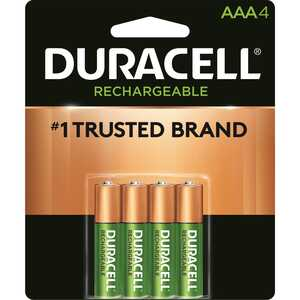 Duracell  Rechargeable  NiMH  Rechargeable Battery  1.4 volt 4 pk AAA  DCNLAAA4BCD
