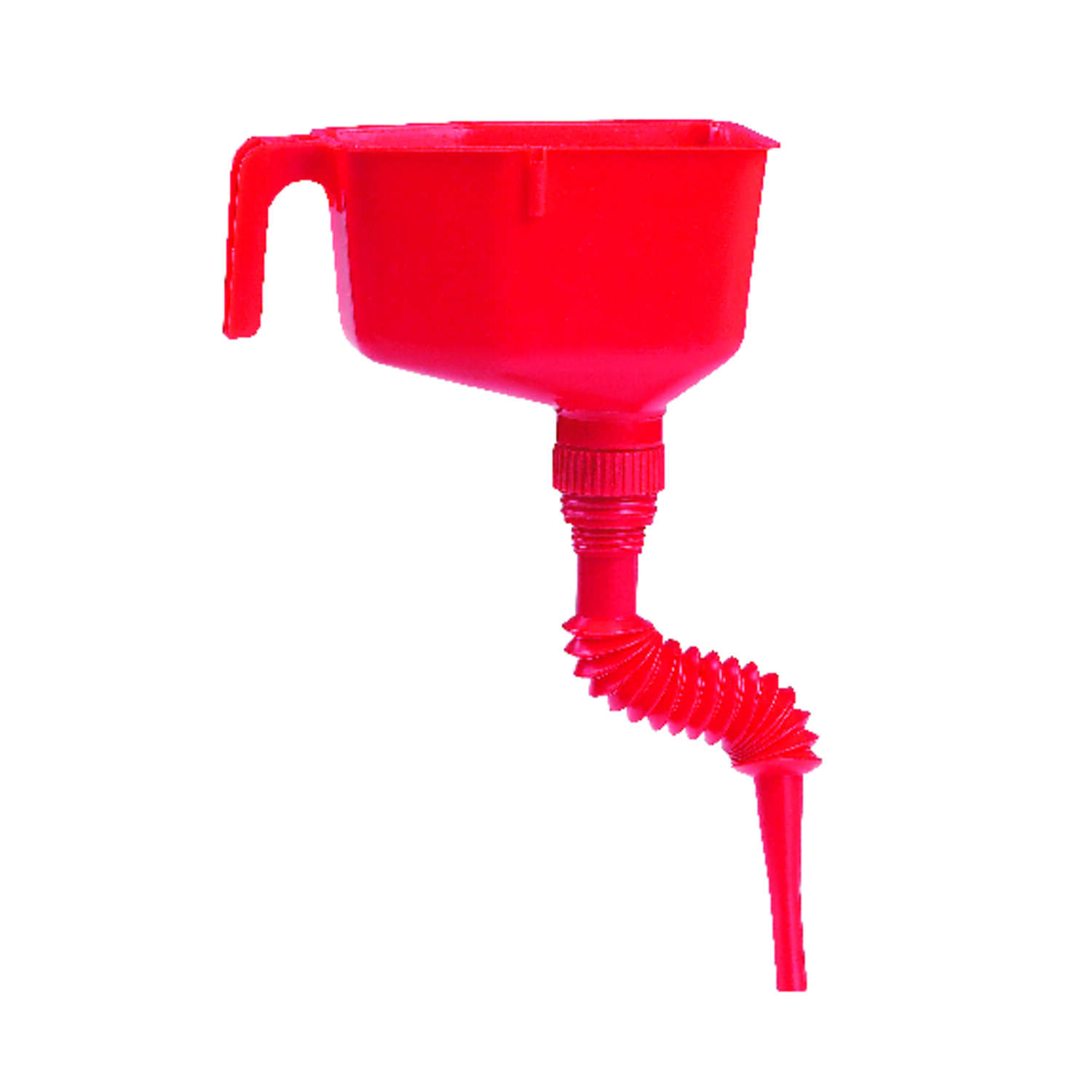 FloTool  Red  Plastic  1 qt. Funnel