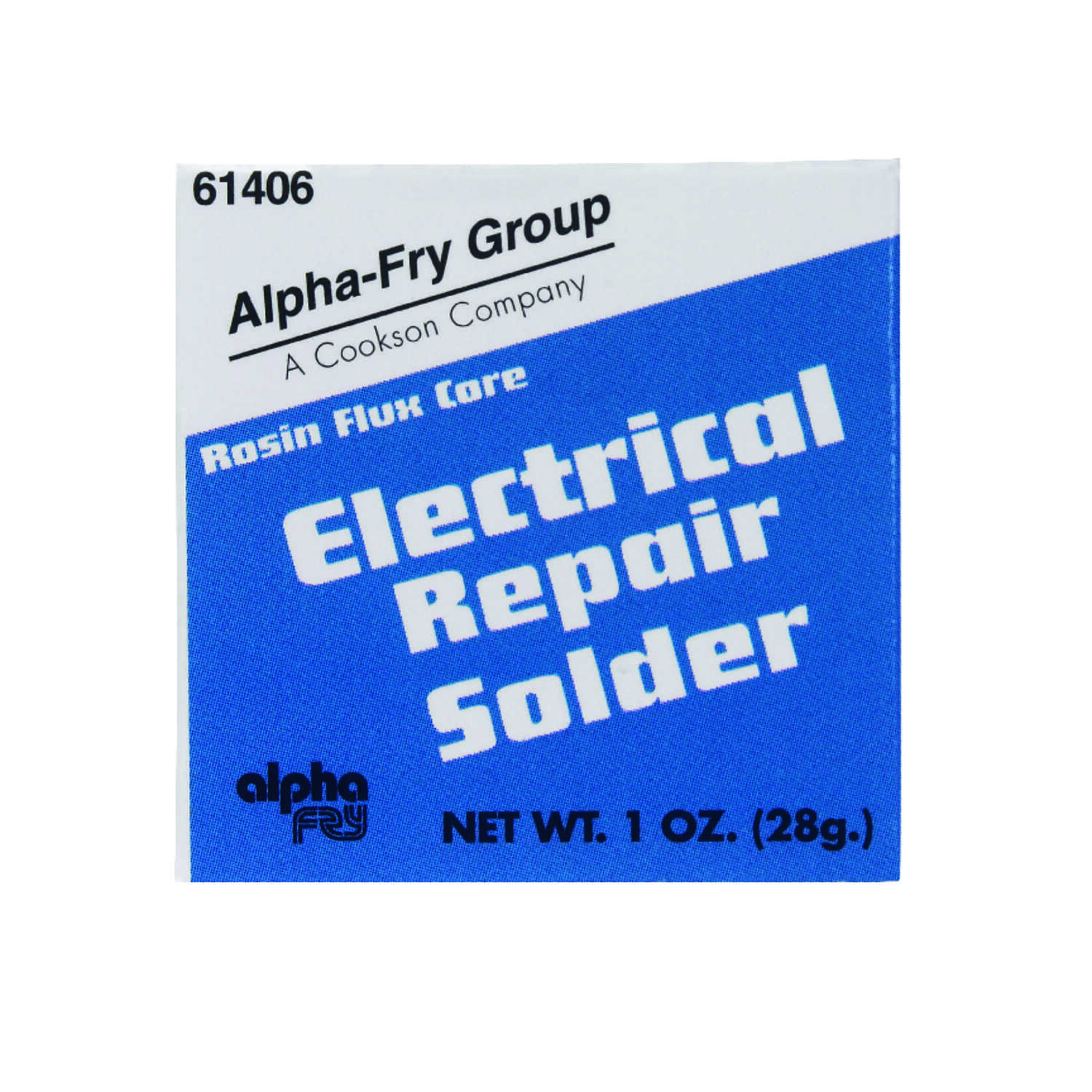 Alpha Fry  1 oz. Repair Solder  0.09 in. Dia. Tin / Lead  40/60