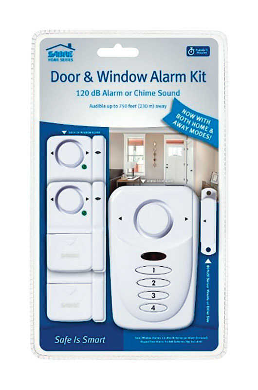 Sabre  White  Plastic  Door & Window Alarm Kit