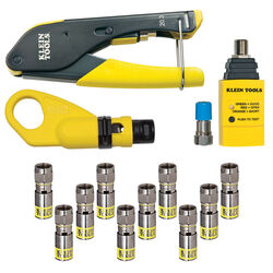 Klein Tools Coax Installer and Test Kit 1 pk