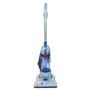 Hoover  Sprint QuickVac  Bagless  Upright Vacuum  10 amps HEPA  Blue