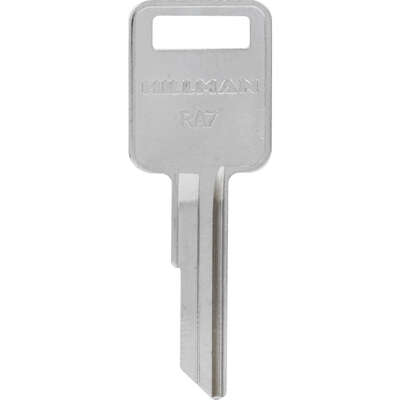 HILLMAN  Traditional Key  House/Office  Universal Key Blank  Single sided
