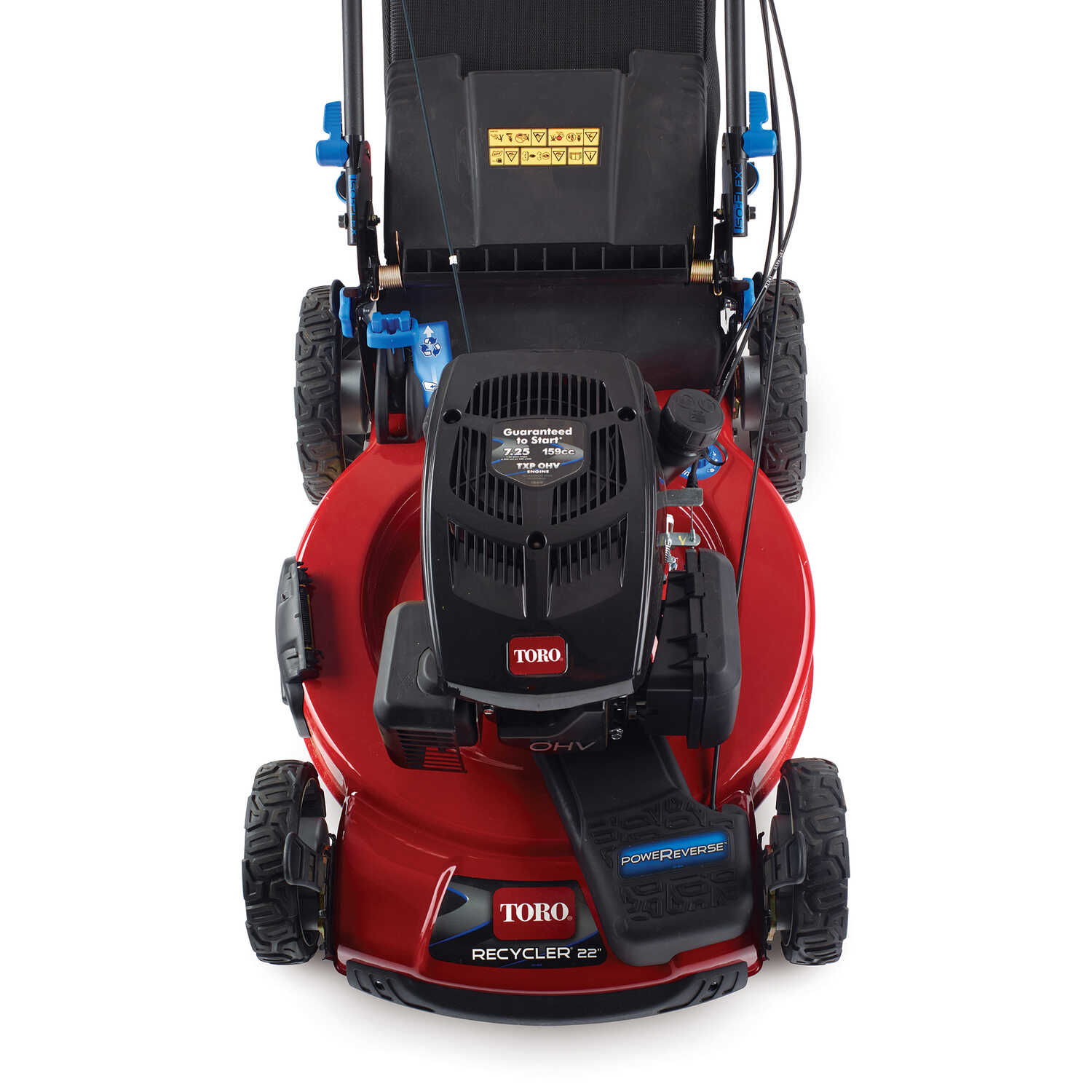 Toro Personal Pace 22 in  W 159 cc Self-Propelled Mulching