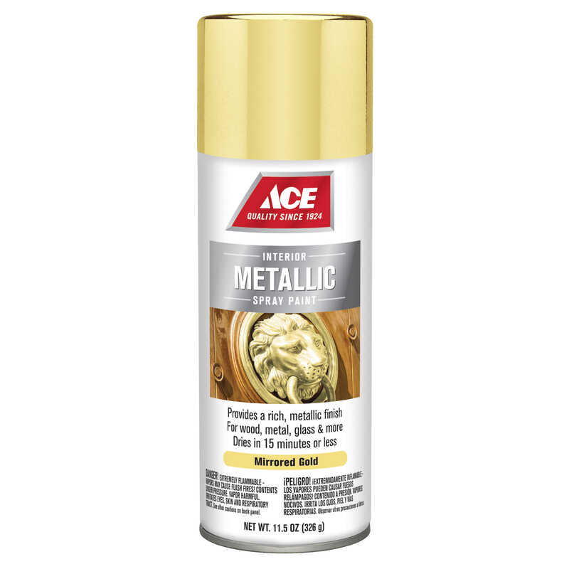 Ace  Brilliant  Gold  11.5 oz. Spray Paint
