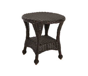 Northcape  Brown  San Benito  Round  End Table