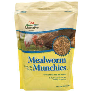 Manna Pro  Mealworm Munchies  Livestock Mineral  For All Animals