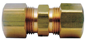 Ace  1/2 in. Compression   x 1/2 in. Dia. Compression  Yellow Brass  Union