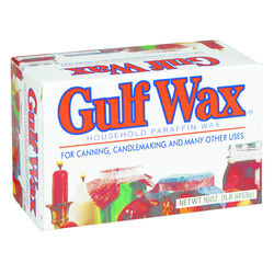 Gulfwax Wide Mouth Paraffin Wax 1 lb.