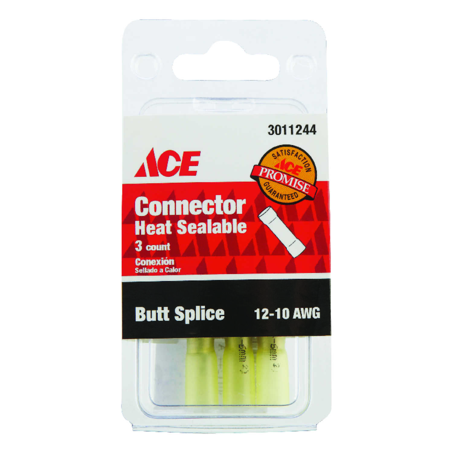 Ace  12-10 AWG 3 pk Butt Splice