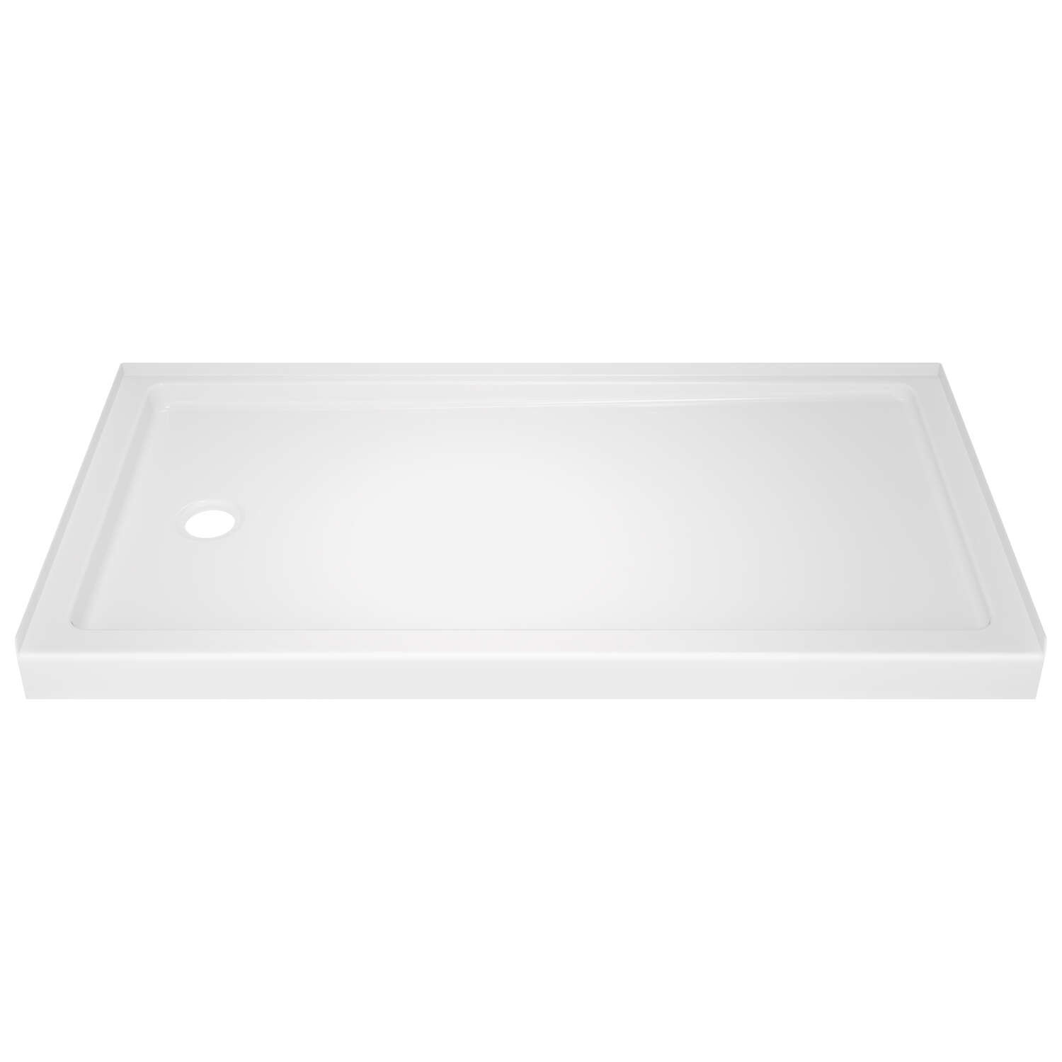 Delta Bathing System  Classic  3-1/2 in. H x 60 in. W x 32 in. L White  Shower Base