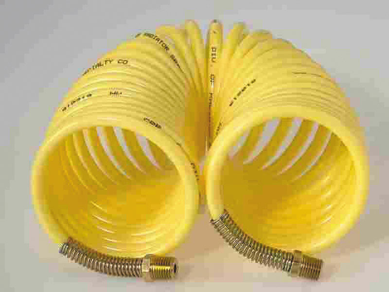 Thermoid  25 ft. L x 1/4 in.  Air Hose  Nylon  200 psi Yellow