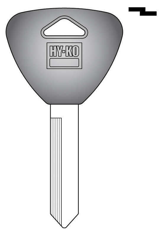 Hy-Ko  Automotive  Key Blank  EZ# H62P  Double sided For Ford/Mercury