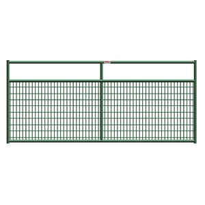 Behlen  50 in. H x 1.67 in. W 12 ft. Steel  Tube Gate