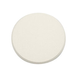 Prime-Line  3-1/4 in. H x 5/16 in. W x 3-1/4 in. L White  Vinyl  Wall Protector  Mounts to wall