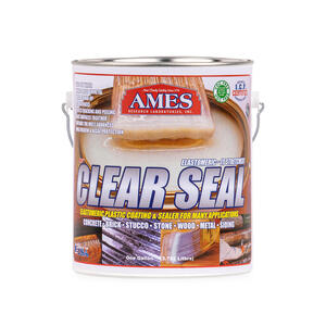 Ames  Gloss  Clear  Roof Sealant  1 gal.