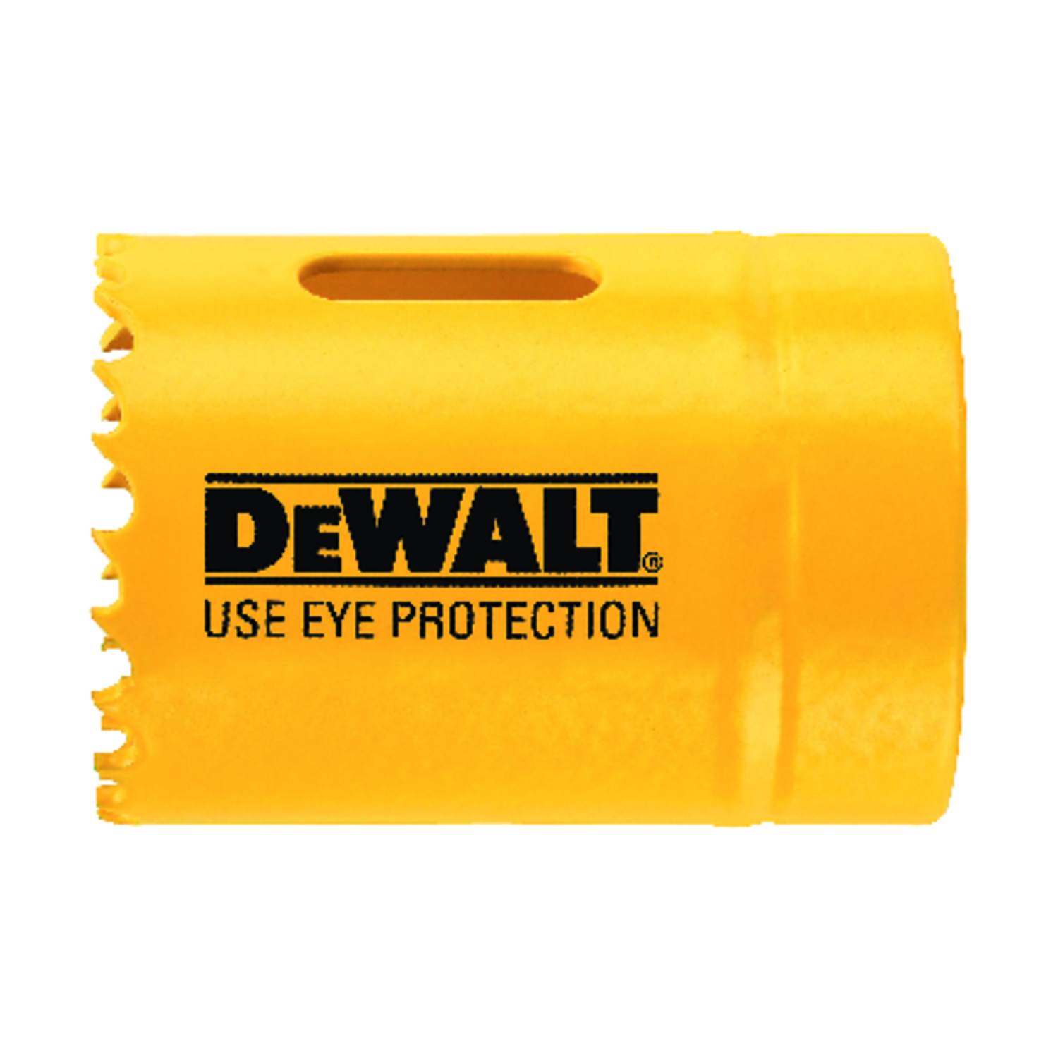 DeWalt  1-1/2 in. Dia. x 1.75 in. L Bi-Metal  Hole Saw  1/4 in. 1 pc.