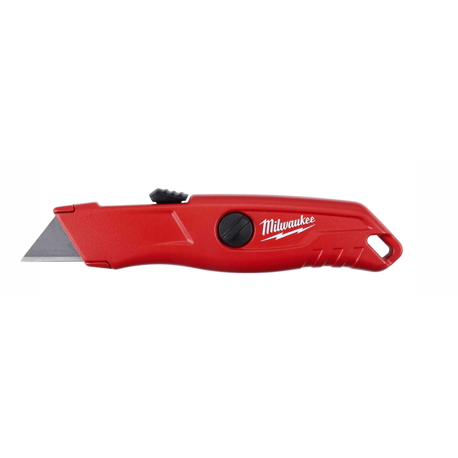 Milwaukee  5-3/4 in. Red  1 pk Safety Knife  Self-Retracting