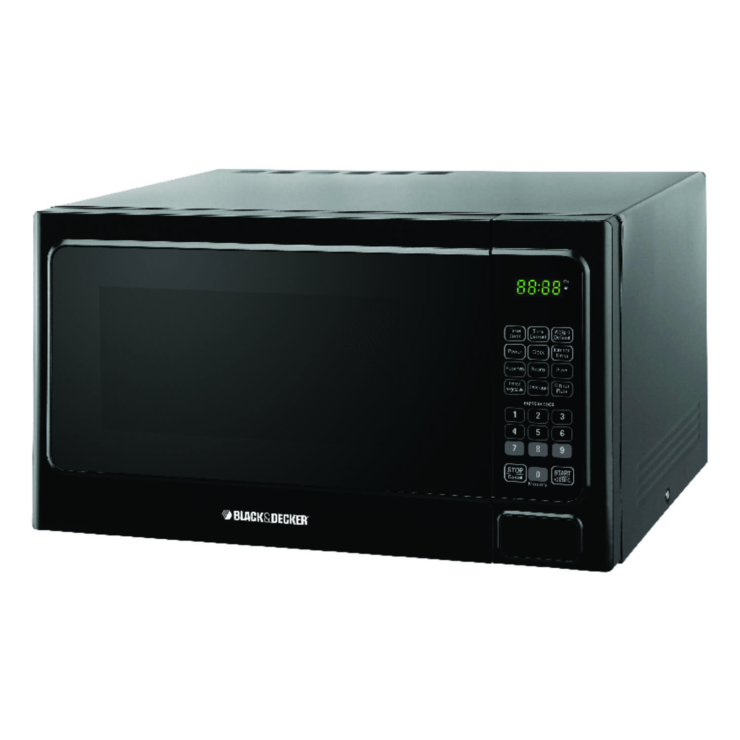 Black & Decker Microwave 1.1 cu. ft. 1,000 watts Black