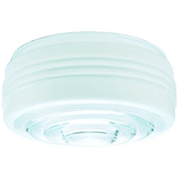 Westinghouse Drum White Glass Shade 1 pk