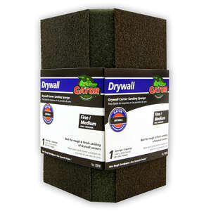 Gator  3-1/2 in. L 120/80 Grit Assorted  Sanding Sponge