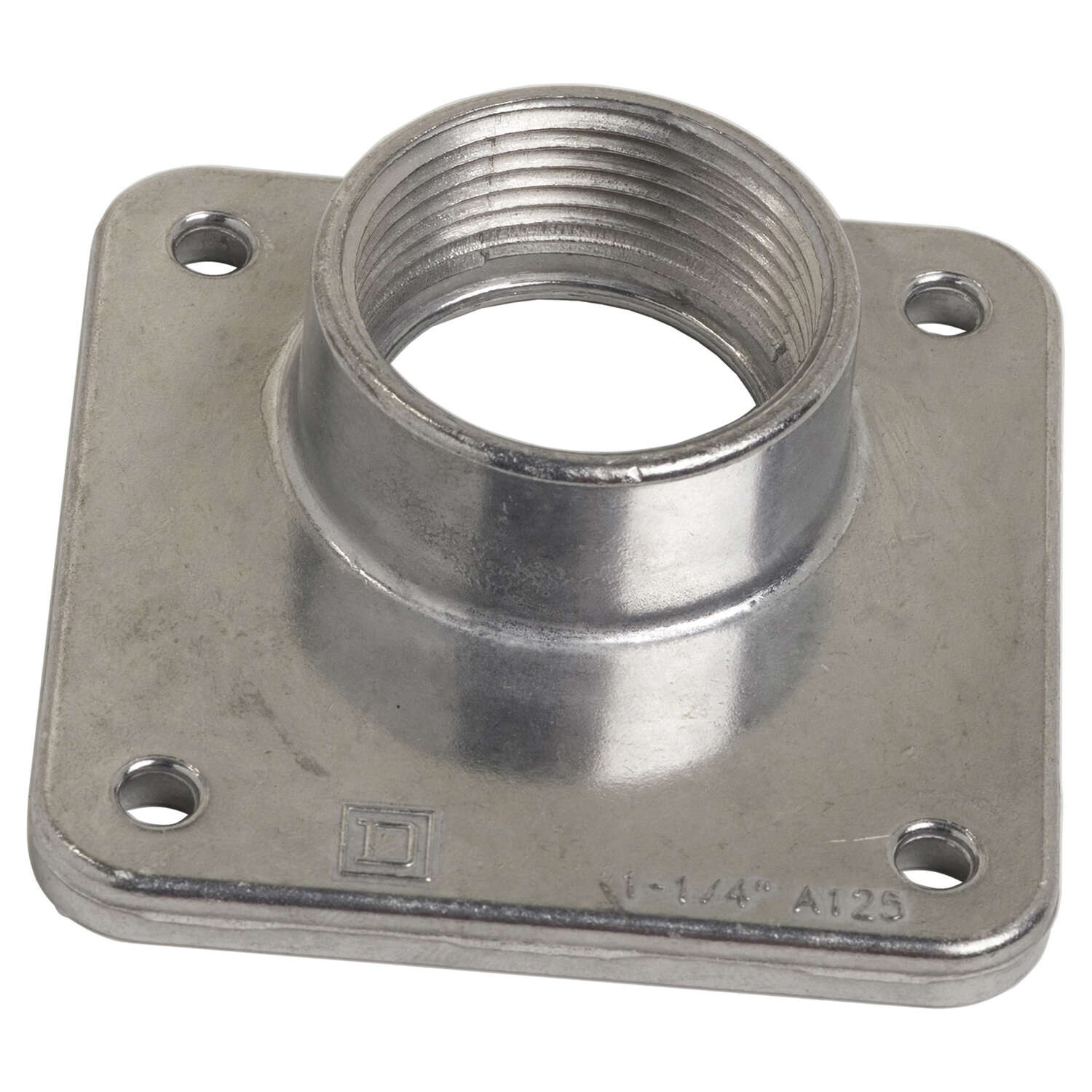 Square D  Bolt-On  1.25 in. Rainproof Hub  For A Openings
