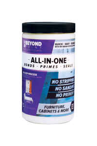 BEYOND PAINT  All-In-One  Matte  Licorice  Water-Based  Acrylic  One Step Paint  1 qt.