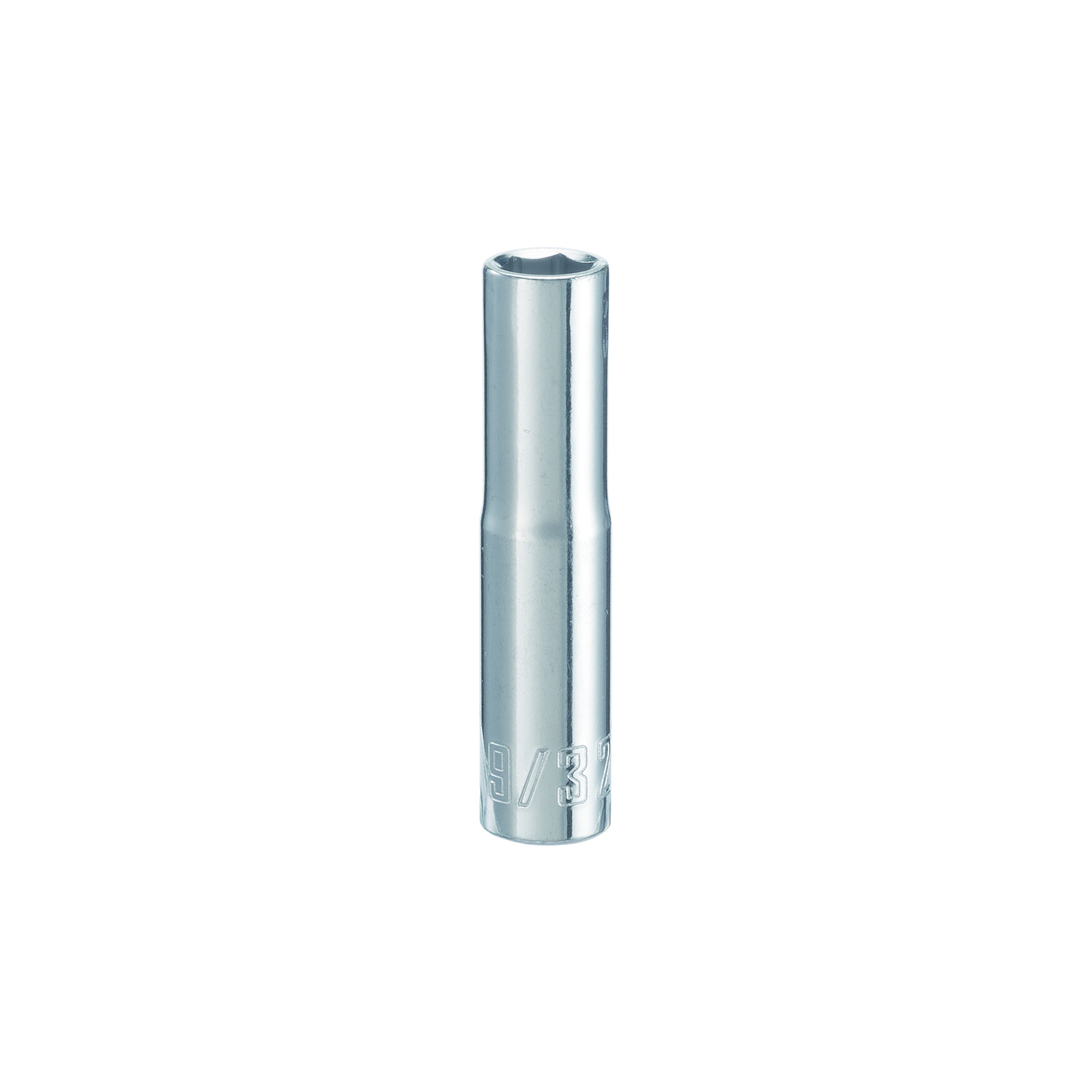 Craftsman  9/32 in.  x 1/4 in. drive  SAE  6 Point Deep  Socket  1 pc.
