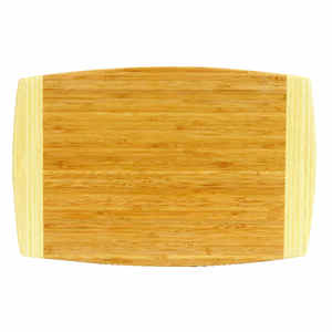 Joyce Chen  12 in. W x 18 in. L Natural  Bamboo  Cutting Board