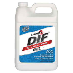 Zinsser  DIF  Odorless Gel  Wallpaper Stripper  1 gal.