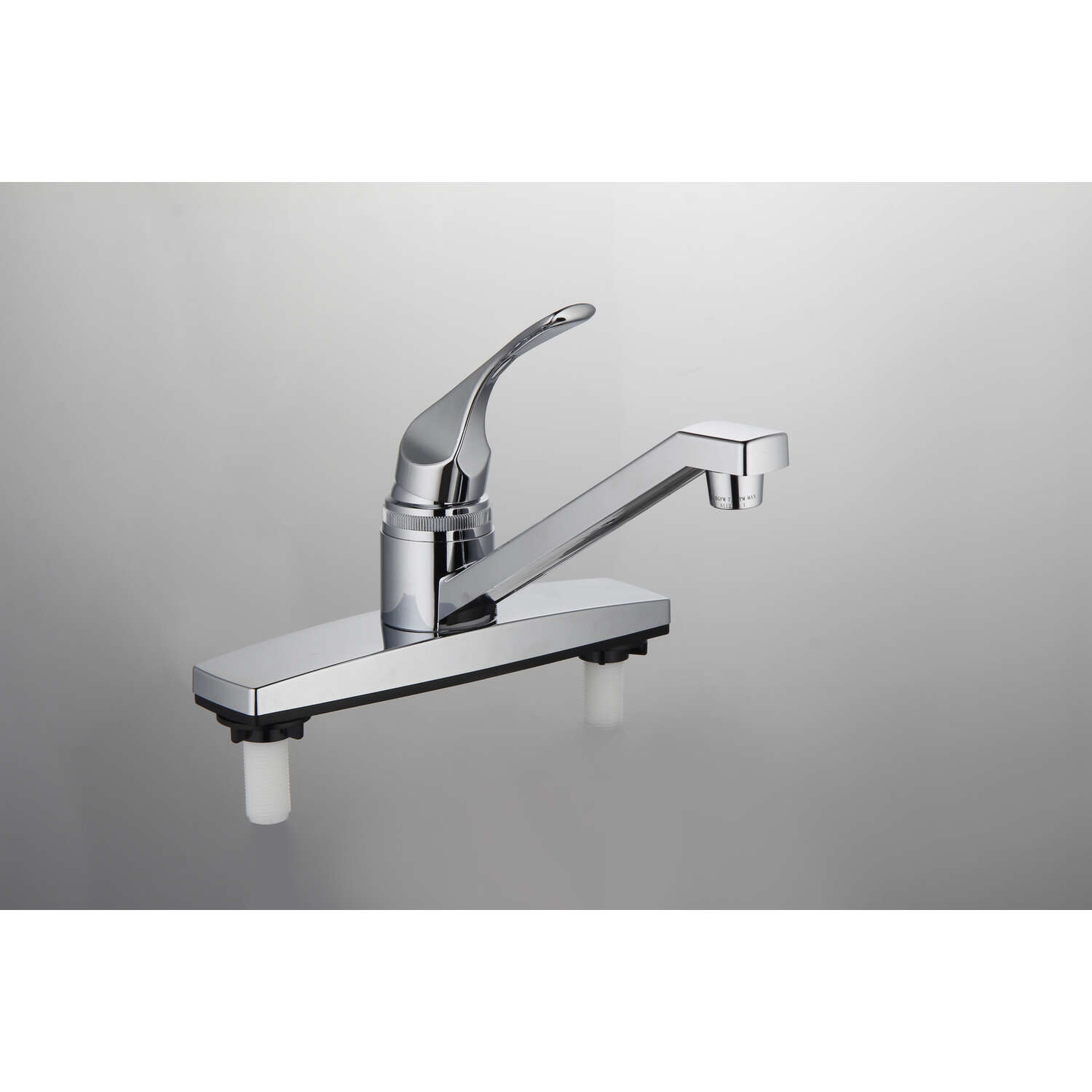 Home Plus  Traditional  One Handle  Chrome  Kitchen Faucet