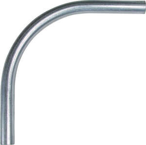Sigma  1-1/2 in. Dia. Galvanized Steel  Electrical Conduit Elbow  For EMT
