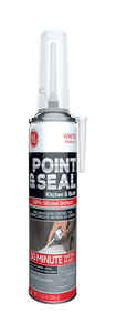 GE  Point and Seal  White  Silicone 2  Sealant  7.25 oz.