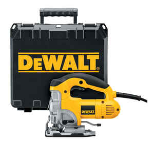 DeWalt  1 in. Corded  Keyless Orbital Jig Saw  Kit 120 volt 6.5 amps 3100 spm