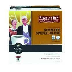 Keurig  Newman's Own  Special Blend Medium Roast  Coffee K-Cups  18 pk