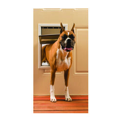 Petsafe 19.625 in. H x 12.75 in. W Aluminum Pet Door