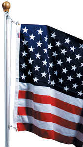 Valley Forge  American  36 in. H x 60 in. W Flag Kit