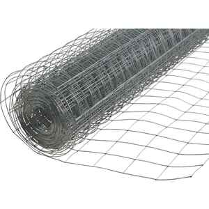 American Posts  48 in. H 100 ft. Steel  Welded Wire Fence