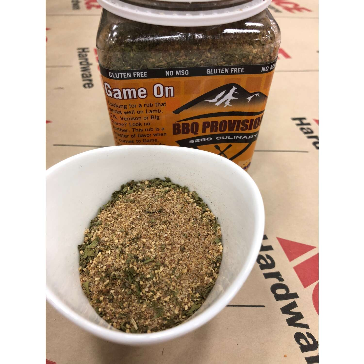 5280 Culinary  BBQ Provisions  Game On Rub  BBQ Rub  8 oz.