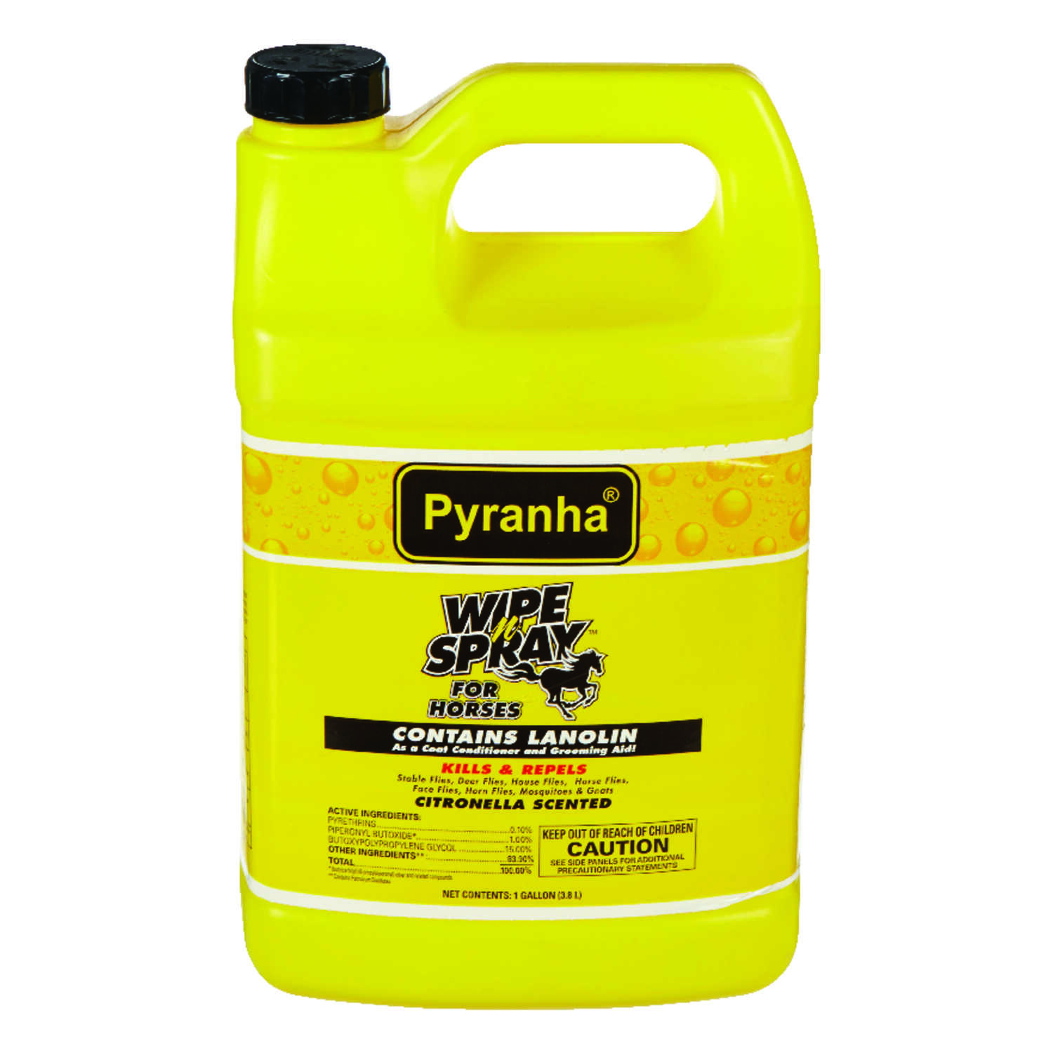 Wipe N' Spray  Pyranha  Insect Control  1 gal.