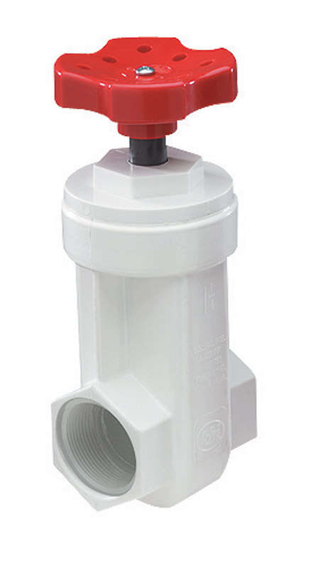 NDS  1-1/4 in. FPT  PVC  Gate Valve  Lead-Free