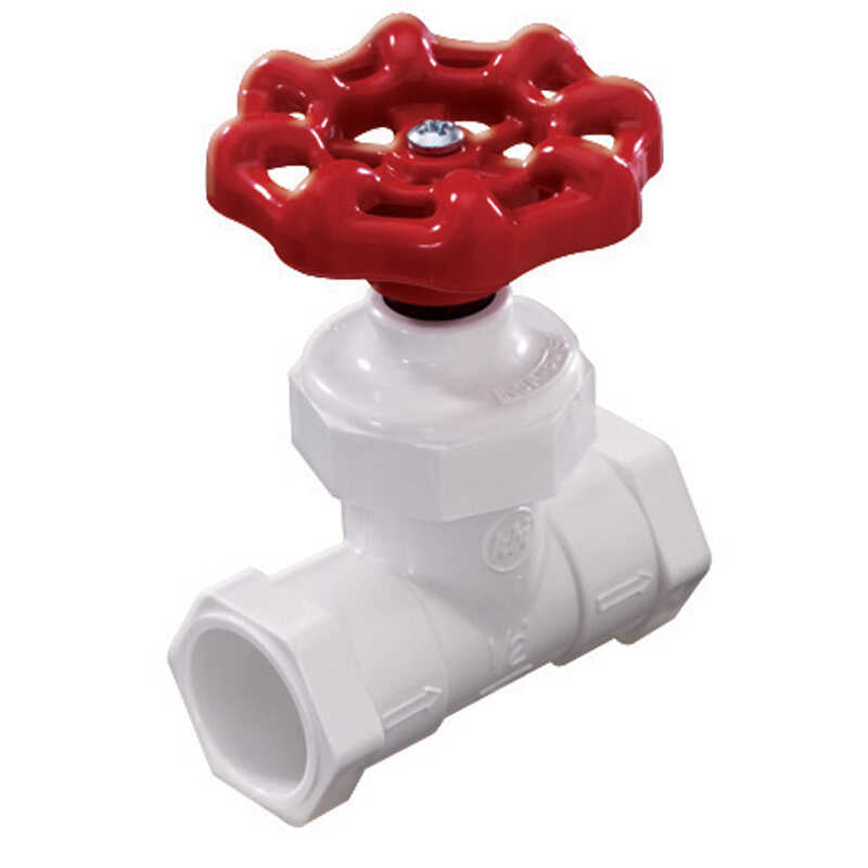 NDS  1/2 in.  x 1/2 in.  Stop Valve  Stop  PVC