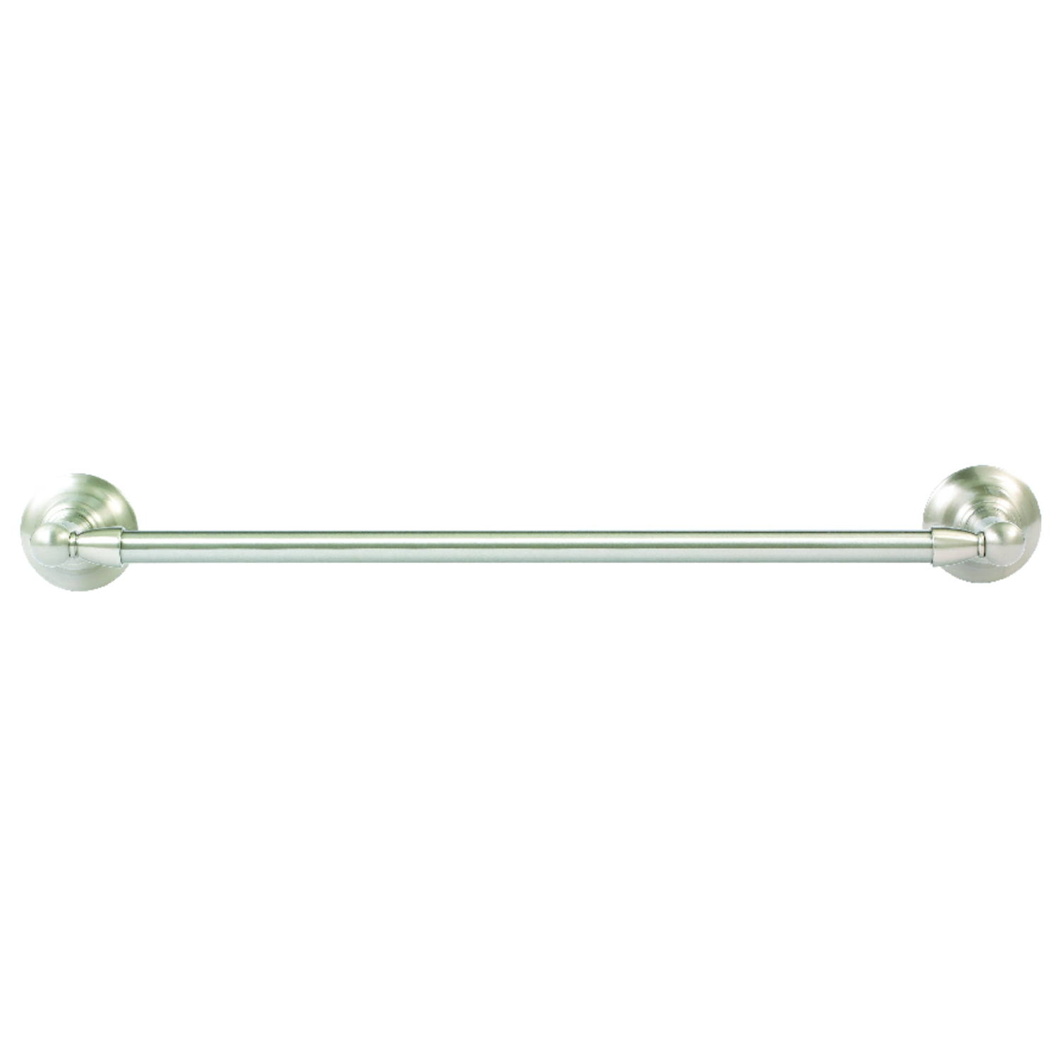 Moen  Sage  Brushed Nickel  Towel Bar  18 in. L Aluminum