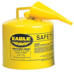 Eagle  Steel  Safety Diesel Can  5 gal.
