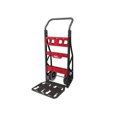 Milwaukee  PACKOUT  48 in. H x 20 in. W x 12 in. D Collapsible 2-Wheel Cart